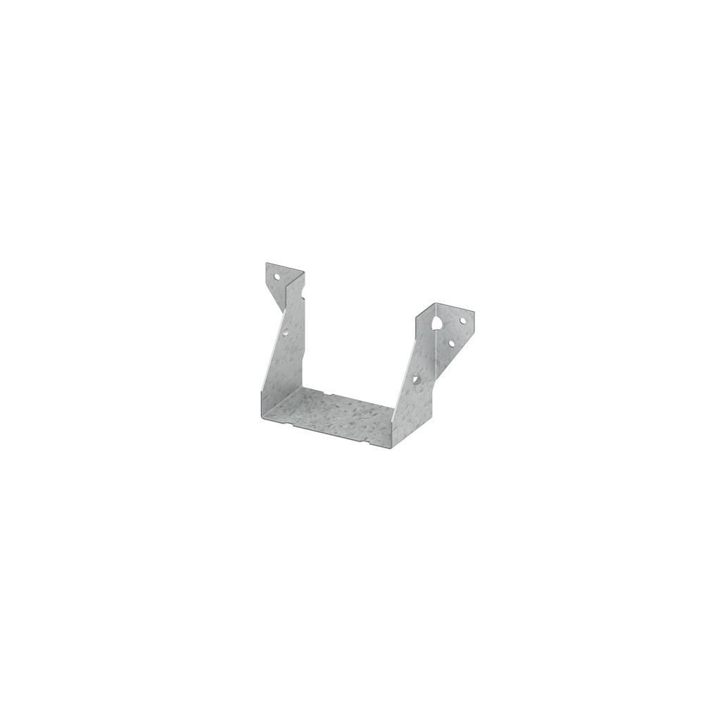 Z-MAX 4 in. x 4 in. Galvanized Double Shear Face Mount Joist Hanger