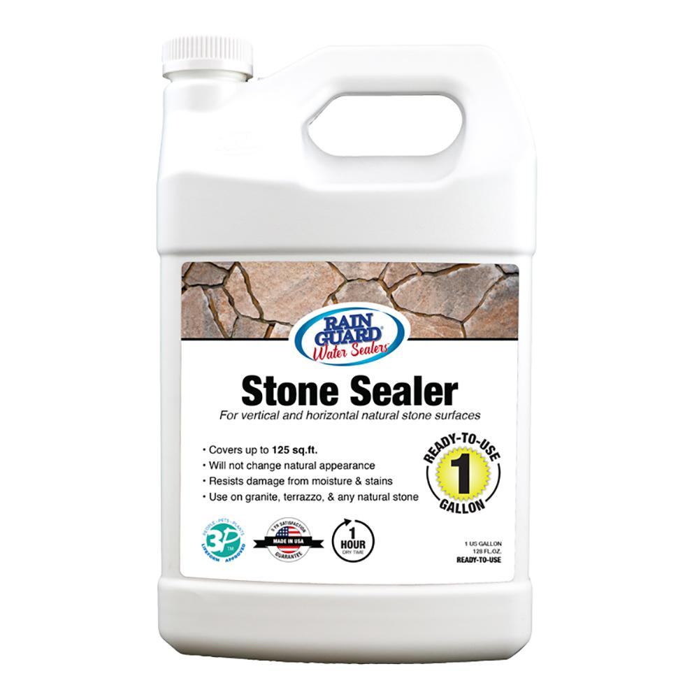 1 gal. Stone Sealer Premium Clear Waterproofer Sealer